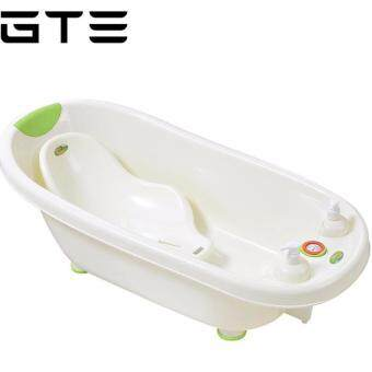 sell gte baby bathtub eco friendly portable swimming tub with heat temperature green in lazada. Black Bedroom Furniture Sets. Home Design Ideas