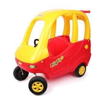 haenim korea kids ride car double red