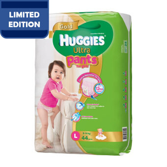 Huggies Ultra Pants Girl L44 x 3 Super Jumbo pack