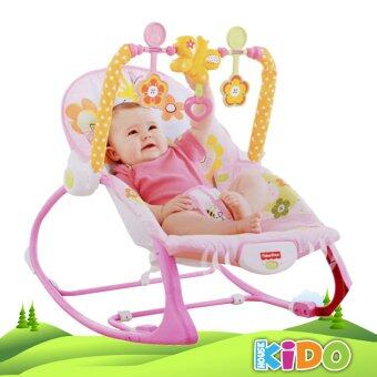 Harga Kido House - Fisher-Price Y4544 Infant-to-Toddler Rocker Chair (Pink)