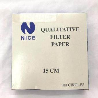 Harga Nice 101 15.0cm Qualitative Filter Paper 100 Circles Laboratory Use