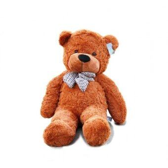 Harga 1 Meter (100cm) Giant Teddy Bear (Dark Brown)
