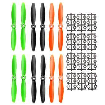 Harga 6 Pairs ABS 6040 CW CCW Propellers for ZMR250 QAV250 280 RC Multirotors