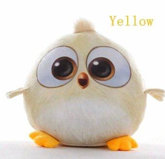 Harga Yellow 35cm New Arrivals Angry Birds Plush Toys 3D Movie Small Cute Stuffed Animal Plush Toy Baby Toys Girl's Toy Doll