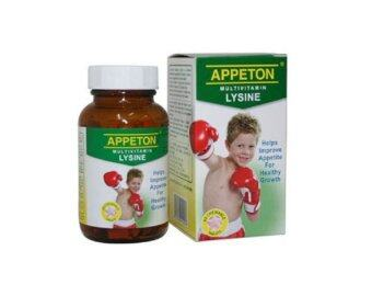 Harga Appeton Multivitamin Lysine With Probiotics 60'S