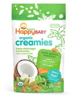 Harga Happy Baby Happy Creamies - Apple/Spinach/Pea/kiwi (28g)