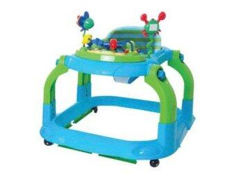 Harga Little Bean Baby Walker (Blue)