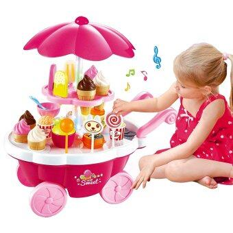 Harga SOKANO Sweet Shop Luxury Candy Cart- Pink