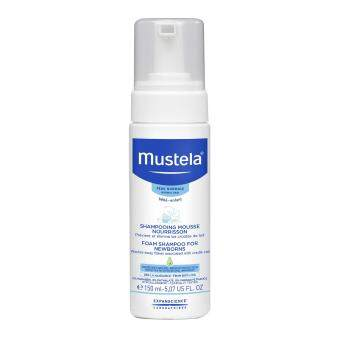 Harga Mustela Foam Shampoo For Newborns 150Ml-5.07 Fl.Oz