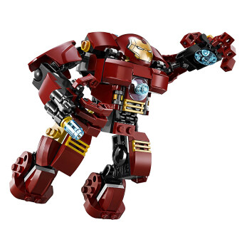 Harga Iron Man Hulk Buster Anti- Hulk Scarlet Witch Ultron SuperheroAvengers Minifigures Building Blocks Toy Compatible with Lego