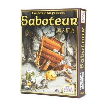 Harga ( Isales ) Vintage Saboteur Card Game Board Game Path Action Gold Nugget Card Family Party