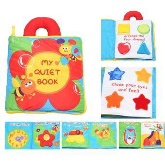 Harga BABY FIRST CLOTH BOOK - My Quiet Book