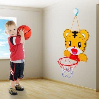 Harga Portable Mini Kids Outdoor Basketball Set Backboard Inside Sports Game Basketball Hoop Toy With Ball Pump- tiger