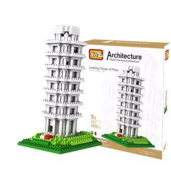 Harga Architecture/Building Series: Italy Leaning Tower of Pisa Loz Diamond Block [Nanoblock Compatible]