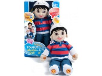 Harga Yousuf - Talking Muslim Doll - Desi Doll - Islamic Toy Arabic Toy