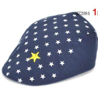 Harga cool five star many little stars casual kids boys baby berets hats caps