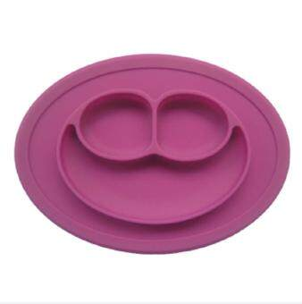 Harga Hot Sales Baby Cute Placemat Plate Tray Suction Patterns Silicone Placemats Easy To Clean Silicone Mat