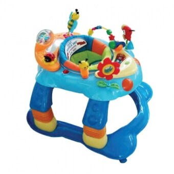 Harga Little Bean 3 in 1 Baby Walker - Blue