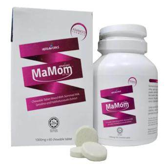 Harga Mamom Milk Booster (1000mg x 60 Chewable Tablets)