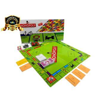 Harga Monopoly 2 in 1 Property Trading Game & Snake Game -No.2030YB