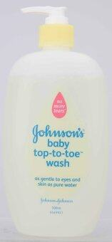 Harga Johnson's Baby Top-to-Toe Wash 500ml