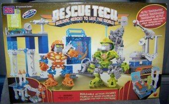 Harga Mega Bloks Rescue Tech Command Centre