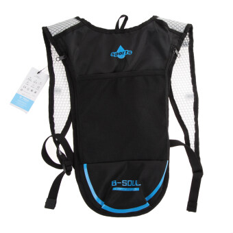 Harga Camping Hiking Hydration Backpack(Black+Blue) (Intl)
