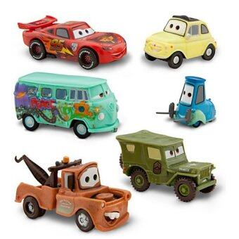 Harga [DISNEY] 100% ORIGINAL FROM USA / Lighening McQueen Pit Crew / Figure play set / Disney Figure