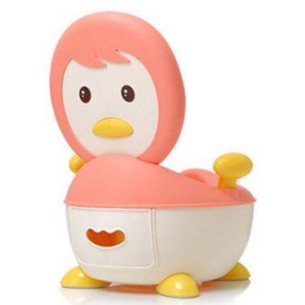 Harga Cute Penguin Potty - Pink