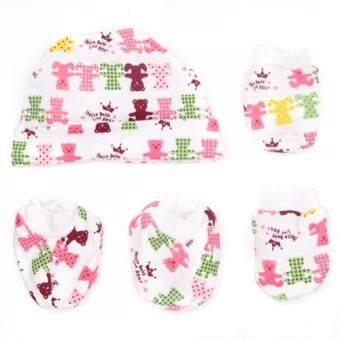 Harga Autumnz - Hat , Mitten And Bootie Set (Hello Baby Little Bear)