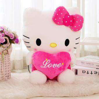 Harga Kitty Toy Doll Hello Doll Doll Ha KT Doll Send My Girlfriend (Hellokitty) Plush Large (27cm)