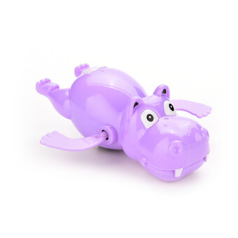 Harga Jetting Buy Baby Bath Toy Hippo Clockwork Wind Up Purple