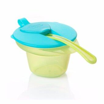 Harga Tommee Tippee Explora Bowl Weaning Cool and Mash - Green (4m+)