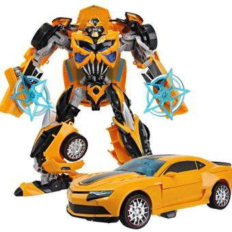 Harga Upgraded Version Transformation 4 Optimus Bumblebee Autobots Toys Hobbies Deform Robots Action Figures Gundam Toy Robot Gift 712