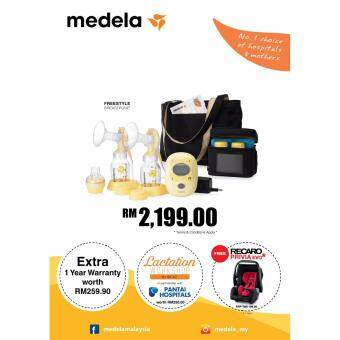 Harga Original Medela Freestyle Double Electric Breast Pump + Extended Warranty