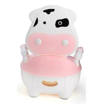 Harga Cutie Cow Baby Potty - Pink