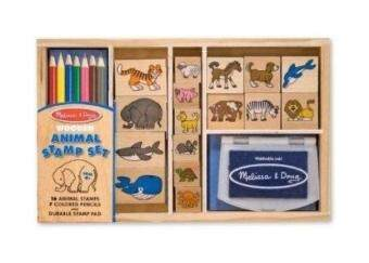 Harga Melissa & Doug Animal Stamp Set