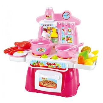 Harga Cook Happy Kitchen PlaySet (Pink)