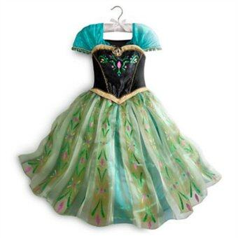 Harga Frozen Anna Dress (green)