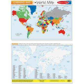 Harga MELISSA & DOUG COUNTRIES OF THE WORLD WRITE-A-MAT