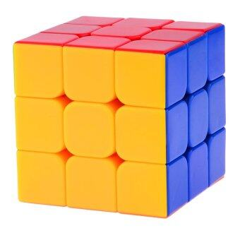 Harga 360WISH YJ Yu Long 3x3x3 Stickerless Speed Cube Puzzle (55mm) Colorful (EXPORT)