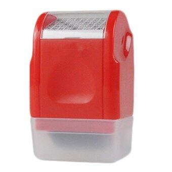 Harga Kuhong 1PC Office Plus Guard Your ID Roller Stamp SelfInking Stamp Messy Code Security