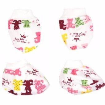 Harga Autumnz - Mitten And Bootie Set (Hello Baby Little Bear)