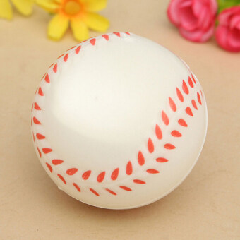 Harga Soft Stress Relief Ball Squeeze Venting Rubber Baseball Sponge Palm Foam Ball