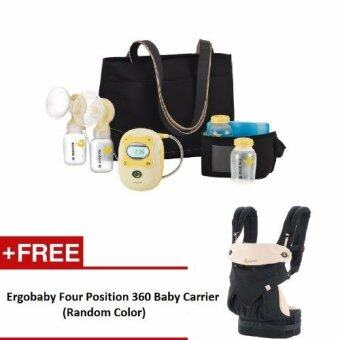 Harga Medela Freestyle Double Electric Breast Pump + Free Ergobaby Four Position 360 Baby Carrier