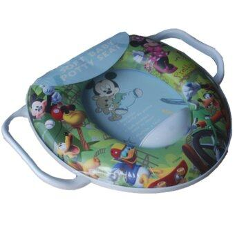 Harga Soft Seat Baby Potty Toilet Training Mickey & Friends