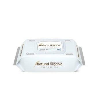 Harga Natural Organic - Premium Soothing Embossing Type Baby Wipes 70s