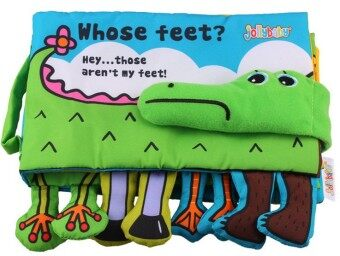 Harga Activity Soft Book - Whose Feet?