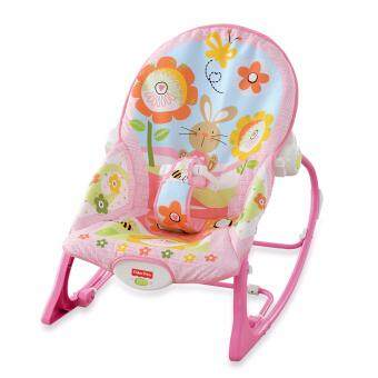 Harga Fisher Price Infant To Toddler Rocker Pink Owl Sleeper Pink Owls Vibration Bouncer infant rocker music chair Christmas gift Fullmoon Birthday Gift