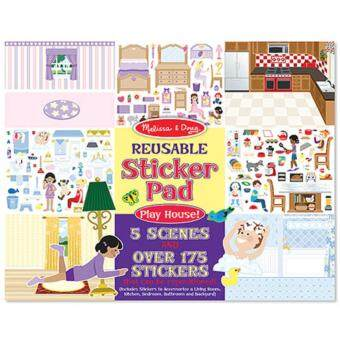 Harga MELISSA & DOUG Play House! Reusable Sticker Pad